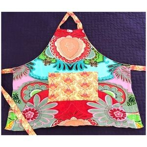 BIG HEART 100% Cotton Reversible Full Apron